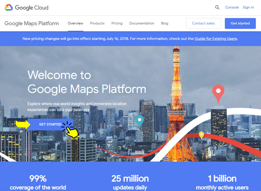 How to get your Google Maps API key (Tutorial)
